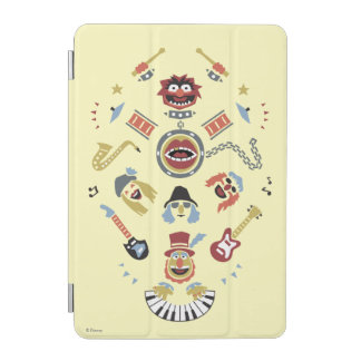 The Muppets Electric Mayhem Iconic Shape Graphic iPad Mini Cover