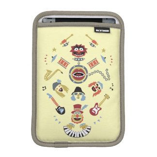 The Muppets Electric Mayhem Iconic Shape Graphic iPad Mini Sleeve