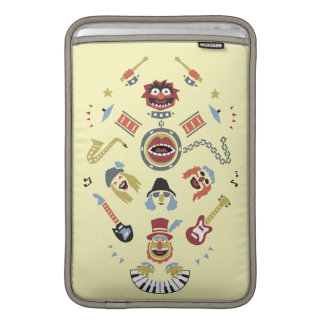 The Muppets Electric Mayhem Iconic Shape Graphic MacBook Air Sleeves