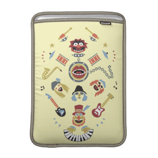 The Muppets Electric Mayhem Iconic Shape Graphic MacBook Sleeve