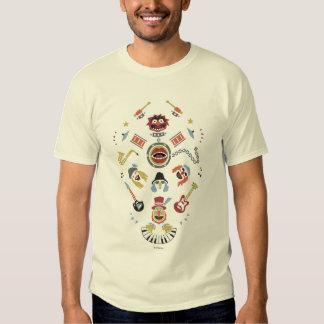 The Muppets Electric Mayhem Iconic Shape Graphic Shirt