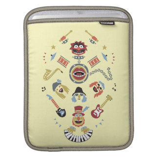 The Muppets Electric Mayhem Iconic Shape Graphic Sleeves For iPads