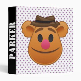 The Muppets| Fozzie Bear Emoji 3 Ring Binder
