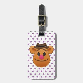 The Muppets| Fozzie Bear Emoji Bag Tag