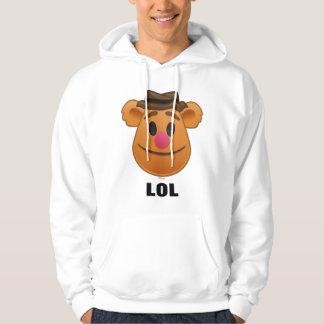 The Muppets  Fozzie Bear Emoji Hoodie