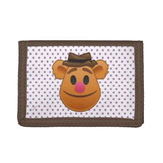 The Muppets| Fozzie Bear Emoji Tri-fold Wallet