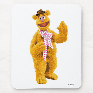 The Muppets Fozzie smiling Disney Mouse Pad