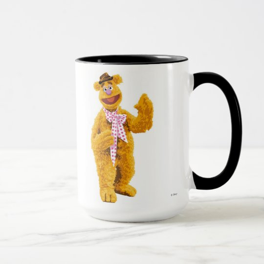 The Muppets Fozzie smiling Disney Mug