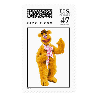 The Muppets Fozzie smiling Disney Postage