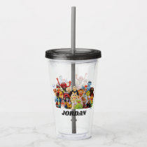 The Muppets Gang | Add Your Name Acrylic Tumbler