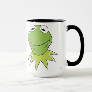The Muppets Kermit similing Disney Mug