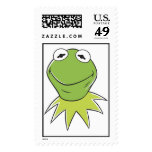 The Muppets Kermit similing Disney Stamp