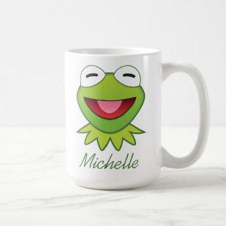 The Muppets  Kermit The Frog Emoji Coffee Mug