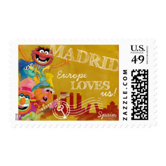 The Muppets - Madrid, Spain Poster Postage Stamp