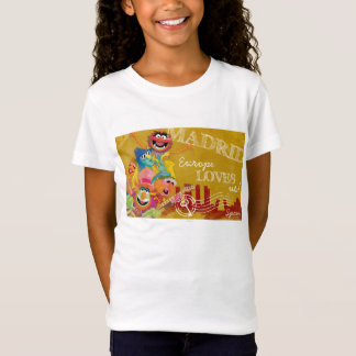 The Muppets - Madrid, Spain Poster T-Shirt