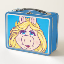 The Muppets Miss Piggy Face Disney Metal Lunch Box