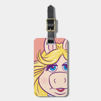 The Muppets Miss Piggy Face Disney Tag For Luggage