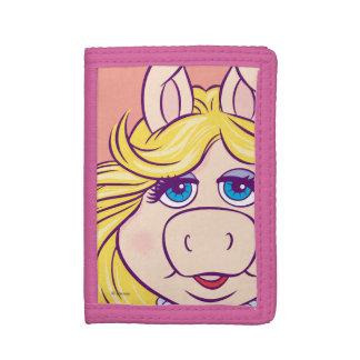 The Muppets Miss Piggy Face Disney Tri-fold Wallet