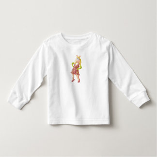 The Muppets Miss Piggy standing flowered dress