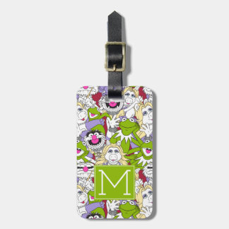 The Muppets | Monogram Oversized Pattern Luggage Tag