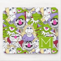 The Muppets | Monogram Oversized Pattern Mouse Pad