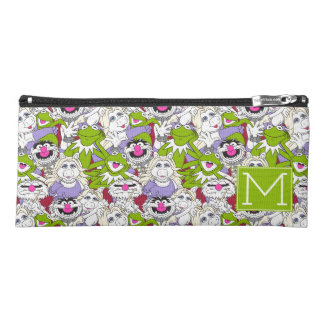 The Muppets | Monogram Oversized Pattern Pencil Case
