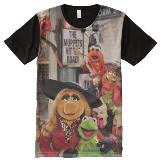 The Muppets Most Wanted Hits the Road! All-Over-Print T-Shirt