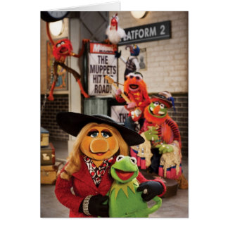 The Muppets Most Wanted Hits the Road! Card