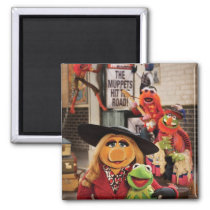 The Muppets Most Wanted Hits the Road! Magnet