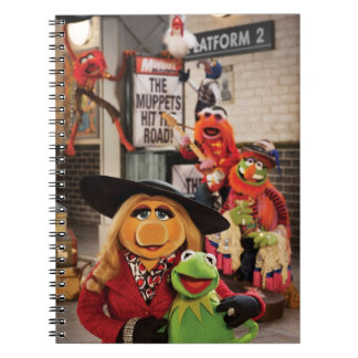 The Muppets Most Wanted Hits the Road! Notebook