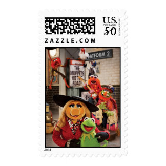 The Muppets Most Wanted Hits the Road! Postage