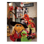 The Muppets Most Wanted Hits The Road! Postcard at Zazzle