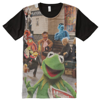 The Muppets Most Wanted | Kermit in Front All-Over-Print Shirt