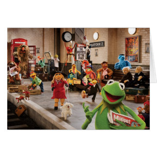 The Muppets Most Wanted | Kermit in Front Card