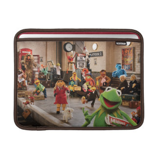 The Muppets Most Wanted   Kermit in Front MacBook Air Sleeve