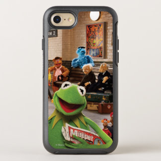 The Muppets Most Wanted | Kermit in Front OtterBox Symmetry iPhone 8/7 Case