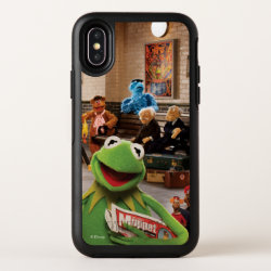 The Muppets Most Wanted | Kermit in Front OtterBox Symmetry iPhone X Case