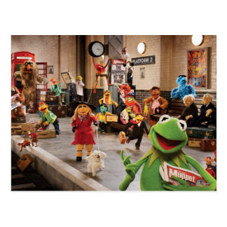 The Muppets Most Wanted | Kermit in Front Postcard