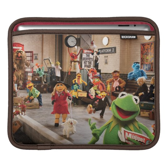 The Muppets Most Wanted   Kermit in Front Sleeve For iPads