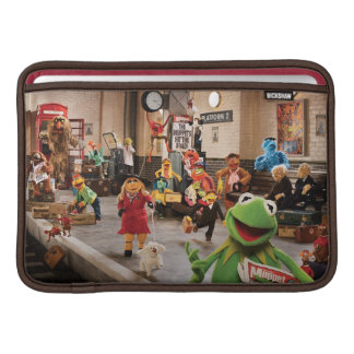 The Muppets Most Wanted   Kermit in Front Sleeve For MacBook Air