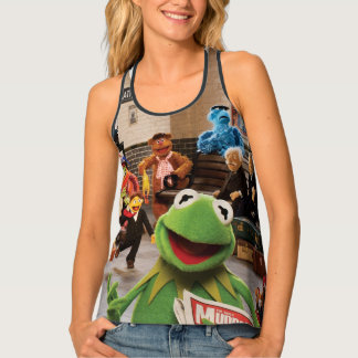 The Muppets Most Wanted | Kermit in Front Tank Top