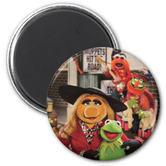 The Muppets Most Wanted Photo 1 2 Inch Round Magnet