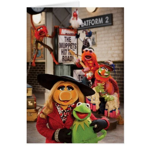 The Muppets Most Wanted Photo 1 Card
