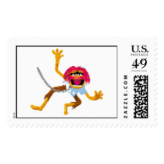 The Muppets Muppet in Collar and Chains Disney Postage