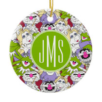 The Muppets | Oversized Pattern Ceramic Ornament