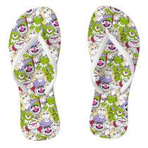 The Muppets | Oversized Pattern Flip Flops