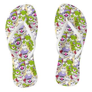 The Muppets   Oversized Pattern Flip Flops