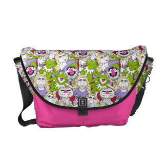 The Muppets | Oversized Pattern Messenger Bag
