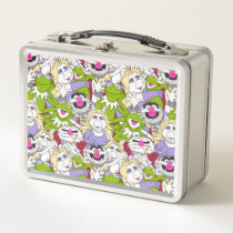 The Muppets | Oversized Pattern Metal Lunch Box