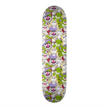 Disney Themed The Muppets | Oversized Pattern Skateboard